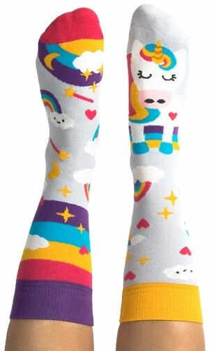 Skarpety kolorowe dla dzieci Nanushki - Happy Unicorn Kids