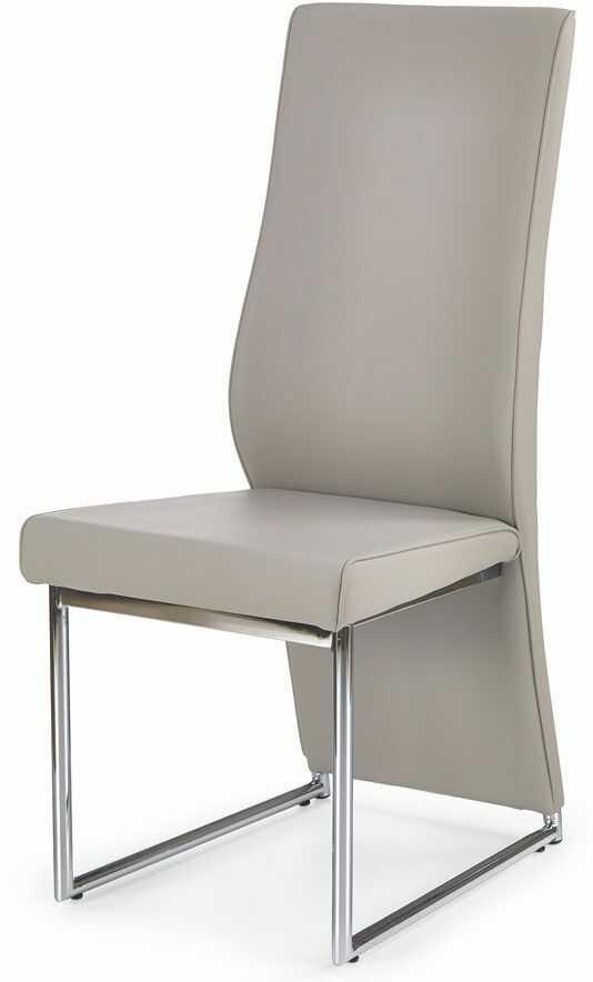 Krzesło tapicerowane Bergil - cappuccino