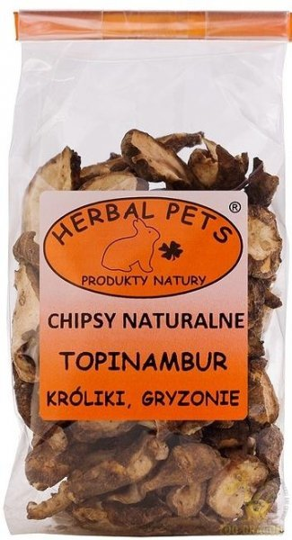 Herbal Pets Chipsy Naturalne Topinambur 75g