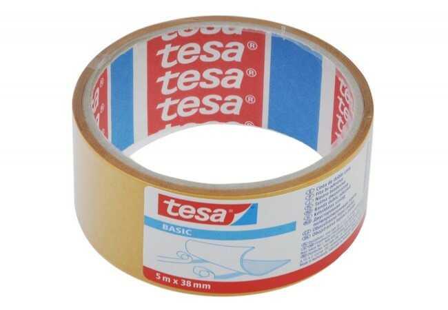 Taśma do wykładzin dwustronna Tesa długość 5 m, szerokość 38 mm (58584-00000-00)