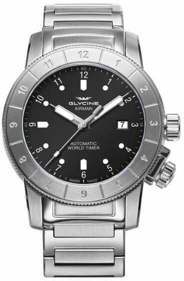 Zegarek Glycine GL0176 AIRMAN - CENA DO NEGOCJACJI - DOSTAWA DHL GRATIS, KUPUJ BEZ RYZYKA - 100 dni na zwrot, możliwość wygrawerowania dowolnego tekstu.
