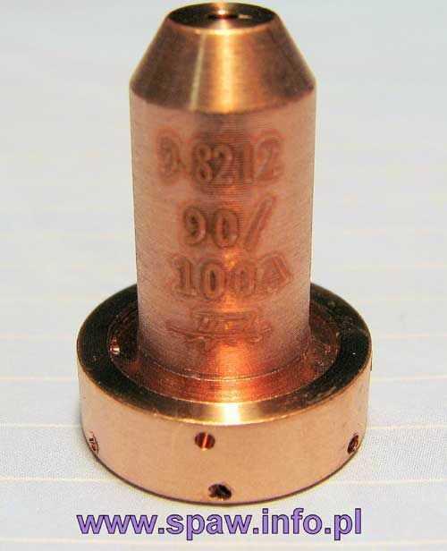 Dysza tnąca 90/100A standard