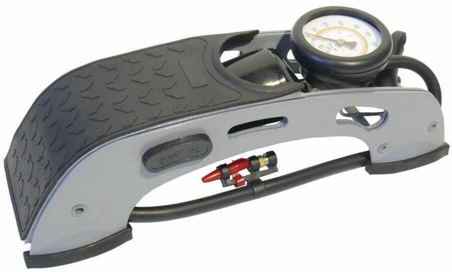 Pompka nożna z manometrem JEDNOTŁOKOWA AUTO-EXPERT