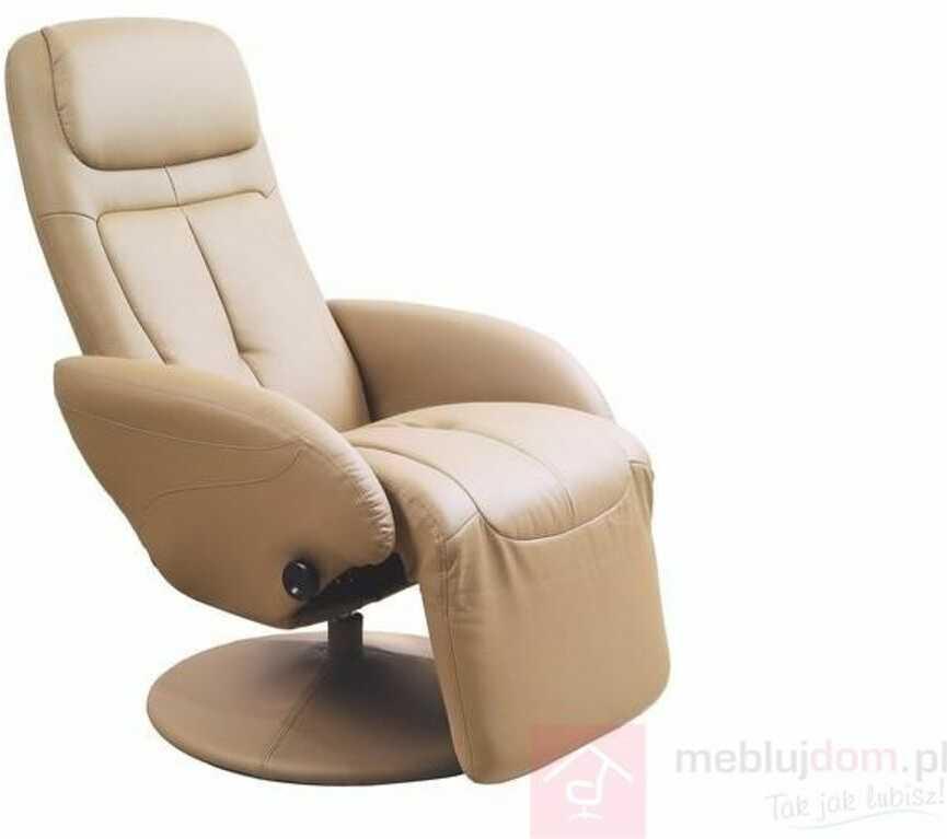 KUPON 10% NA STRONIE  Fotel OPTIMA Halmar Beżowy [Wysyłka 2021-08-31]