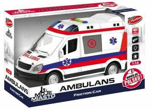 Ambulans Moje Miasto MEGA CREATIVE