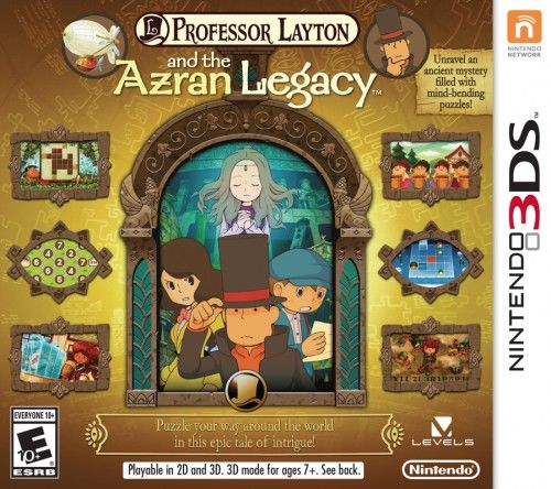 Professor Layton and the Azran Legacy 3DS Używana