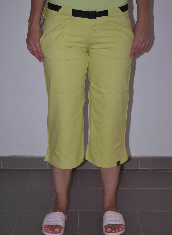 3/4 spodnie damskie UAX DIVKAPRI Wax Yellow