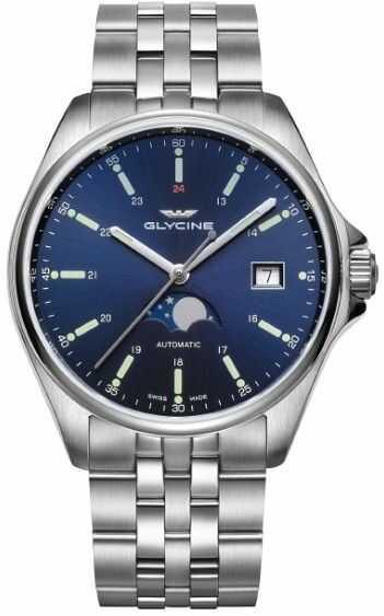 Zegarek Glycine GL0191 - CENA DO NEGOCJACJI - DOSTAWA DHL GRATIS, KUPUJ BEZ RYZYKA - 100 dni na zwrot, możliwość wygrawerowania dowolnego tekstu.