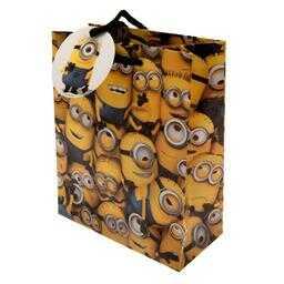 Minionki - torebka na prezent