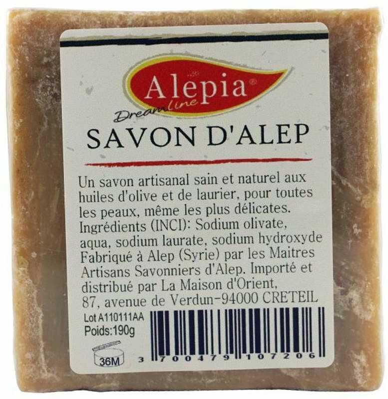 Mydło Alep z Aleppo 1% Laurie - 190g - Alepia