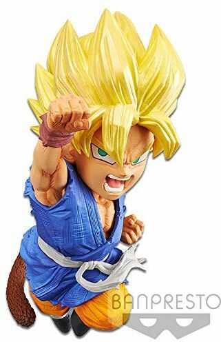 Dragon Ball GT Wrath of the Dragon Super Saiyan Son Goku Figure
