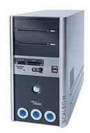 Fujitsu SCALEO Hid Desktop-PC (procesor Intel Pentium D 930 3 GHz, 2 GB RAM, DVD+/-RW, 2 x 250 GB SATA, NVIDA 6500, XP Home)
