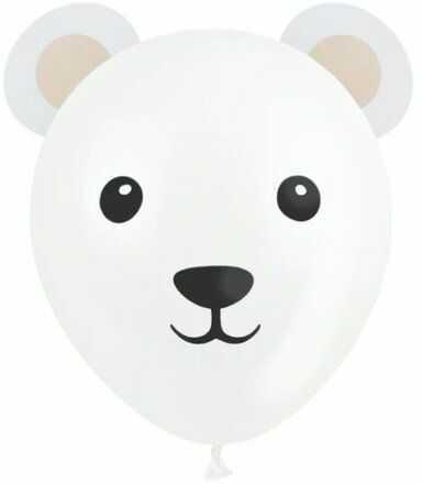 Balony Misie polarne 3 sztuki 400174