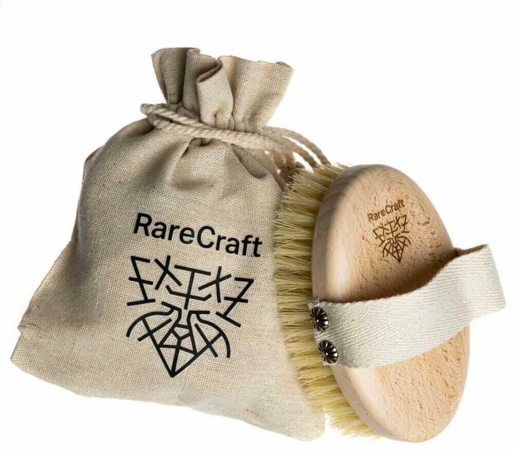 RareCraft Szczotka do masażu ciała na sucho