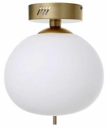 Plafon Peonia LED BL0145 Berella Light klasyczna oprawa sufitowa w kolorze złotym