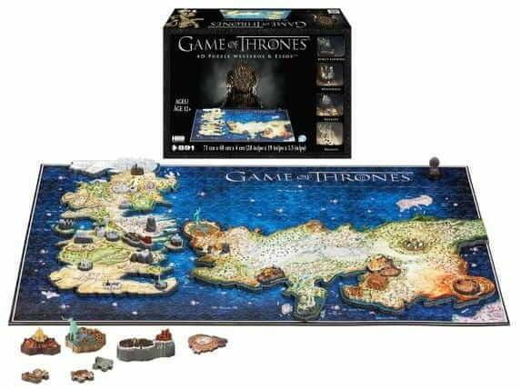 Puzzle 4D - Gra o tron WESTEROS & ESSOS