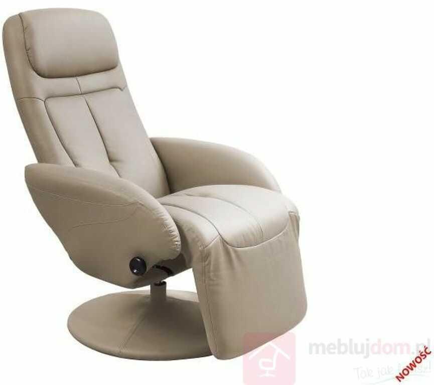 KUPON 10% NA STRONIE  Fotel OPTIMA Halmar Cappuccino [Wysyłka 2021-02-23]