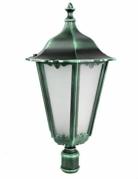 Klosz głowica lamp fi 35mm Retro Maxi K 1018 BD zielony