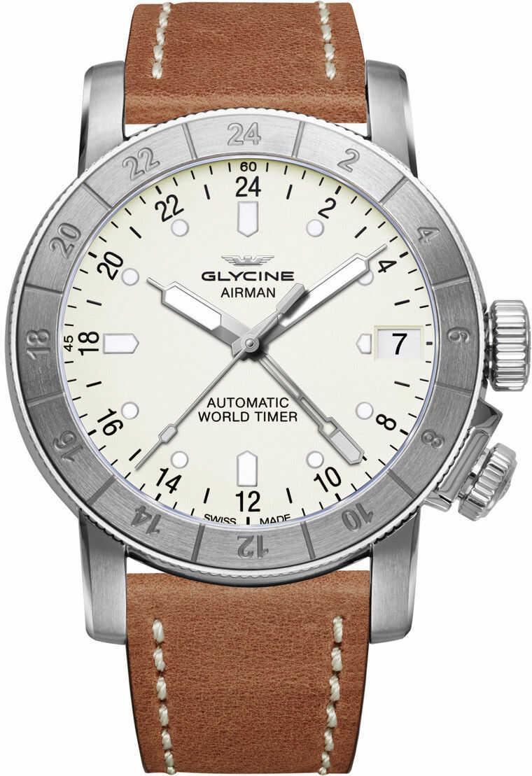 Zegarek Glycine GL0058 AIRMAN - CENA DO NEGOCJACJI - DOSTAWA DHL GRATIS, KUPUJ BEZ RYZYKA - 100 dni na zwrot, możliwość wygrawerowania dowolnego tekstu.