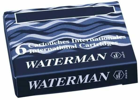 Naboje do pióra Waterman A''6 krótkie czarne -  Rabaty  Porady  Hurt  Autoryzowana dystrybucja  Szybka dostawa