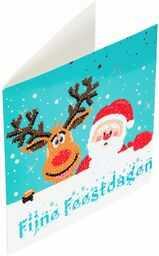 Crystal Art CCK-XMNL2 Crystal Card Kits 18 x 18 cm, Multicolor