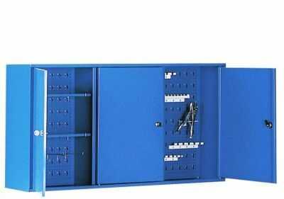 Szafa narzędziowa SZW 120 wisząca do warsztatów półki haczyki