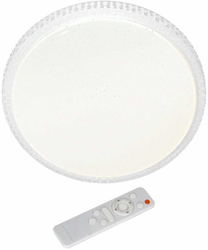 Plafon LED z pilotem Cruz 50cm Biały ML4220 - Milagro // Rabaty w koszyku i darmowa dostawa od 299zł !
