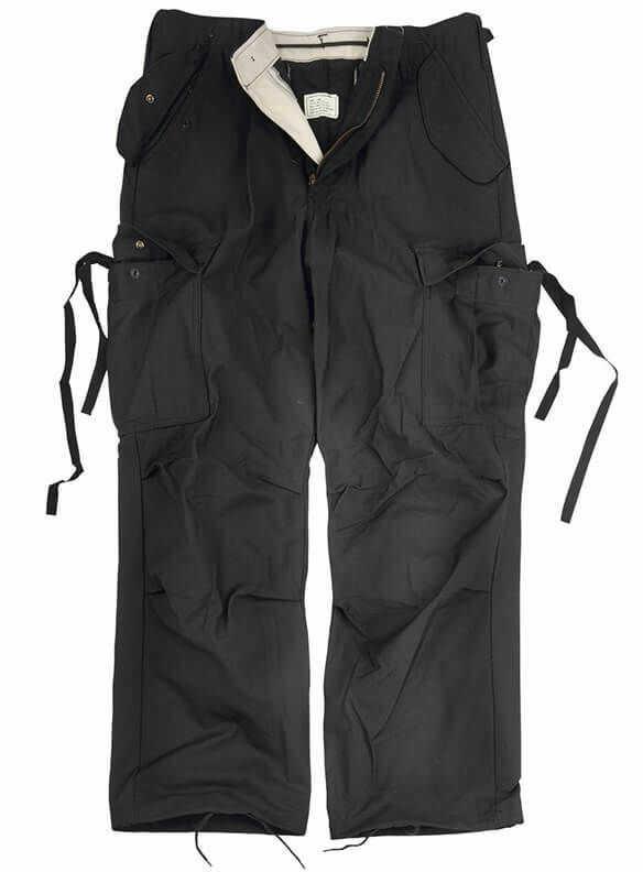 Texar Spodnie M65 NyCo Czarne