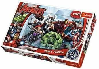 Puzzle TREFL 100 - Avengers, Do ataku, Let''s attack