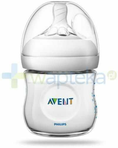 Avent Philips Natural butelka dla niemowląt 125 ml ze smoczkiem dla noworodków 0m+ [SCF030/17]