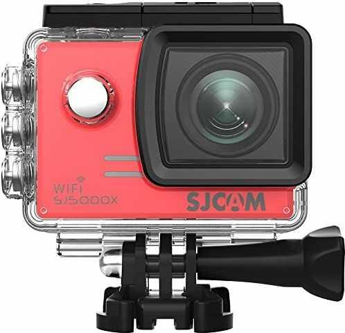 Sjcam - Sj5000x czerwony Elite