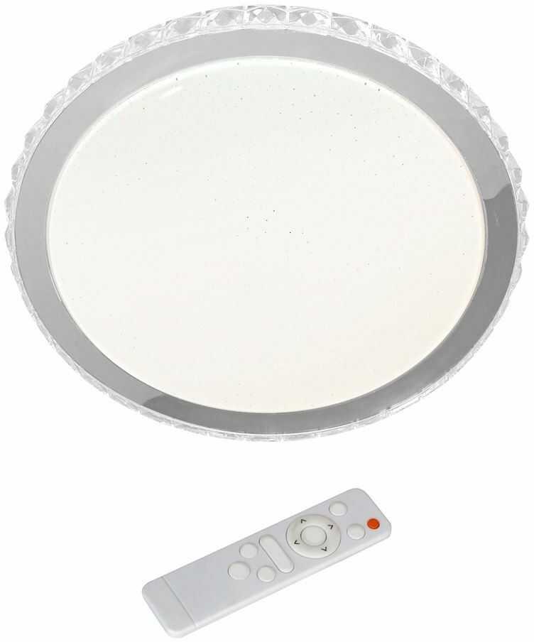 Plafon LED z pilotem Layla 50cm Biały ML4222 - Milagro // Rabaty w koszyku i darmowa dostawa od 299zł !