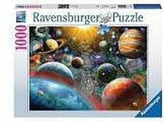 Puzzle Ravensburger 1000 - Planety, Planet