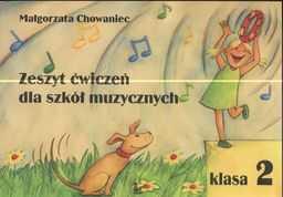 Zeszyt ćwiczeń dla szkół muzycznych Klasa 2 ZAKŁADKA DO KSIĄŻEK GRATIS DO KAŻDEGO ZAMÓWIENIA