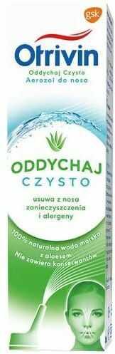 Otrivin Oddychaj Czysto aerozol do nosa 100 ml [+ zawieszka do samochodu o zapachu aloesowym]