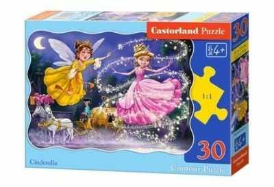 Puzzle Castor 30 - Kopciuszek, Cinderella