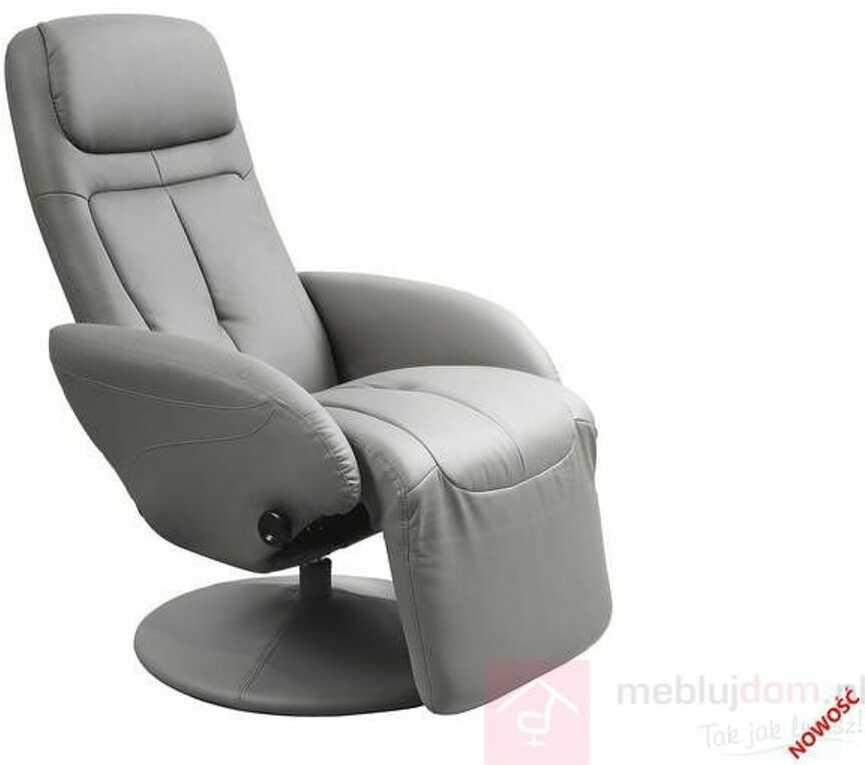 KUPON 10% NA STRONIE  Fotel OPTIMA Halmar Popielaty [Wysyłka 2021-08-03]
