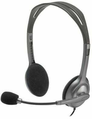 Słuchawki LOGITECH H111. > DARMOWA DOSTAWA ODBIÓR W 29 MIN DOGODNE RATY