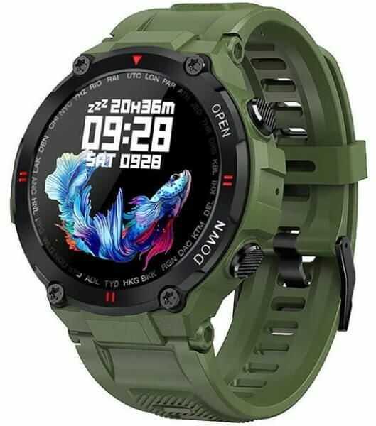 GARETT Smartwatch Garett Sport Tactic zielony