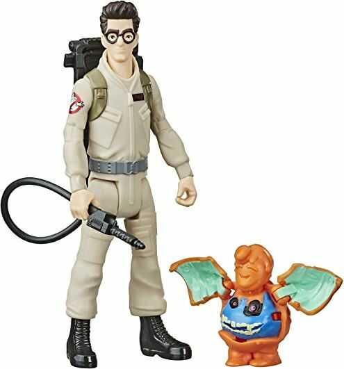 Ghostbusters Egon Spengler figurka z duchem i akcesoriami, zabawka dla dzieci od 4 lat