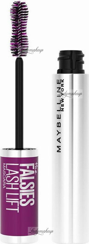 MAYBELLINE - THE FALSIES - LASH LIFT MASCARA - Wodoodporny tusz do rzęs - BLACK