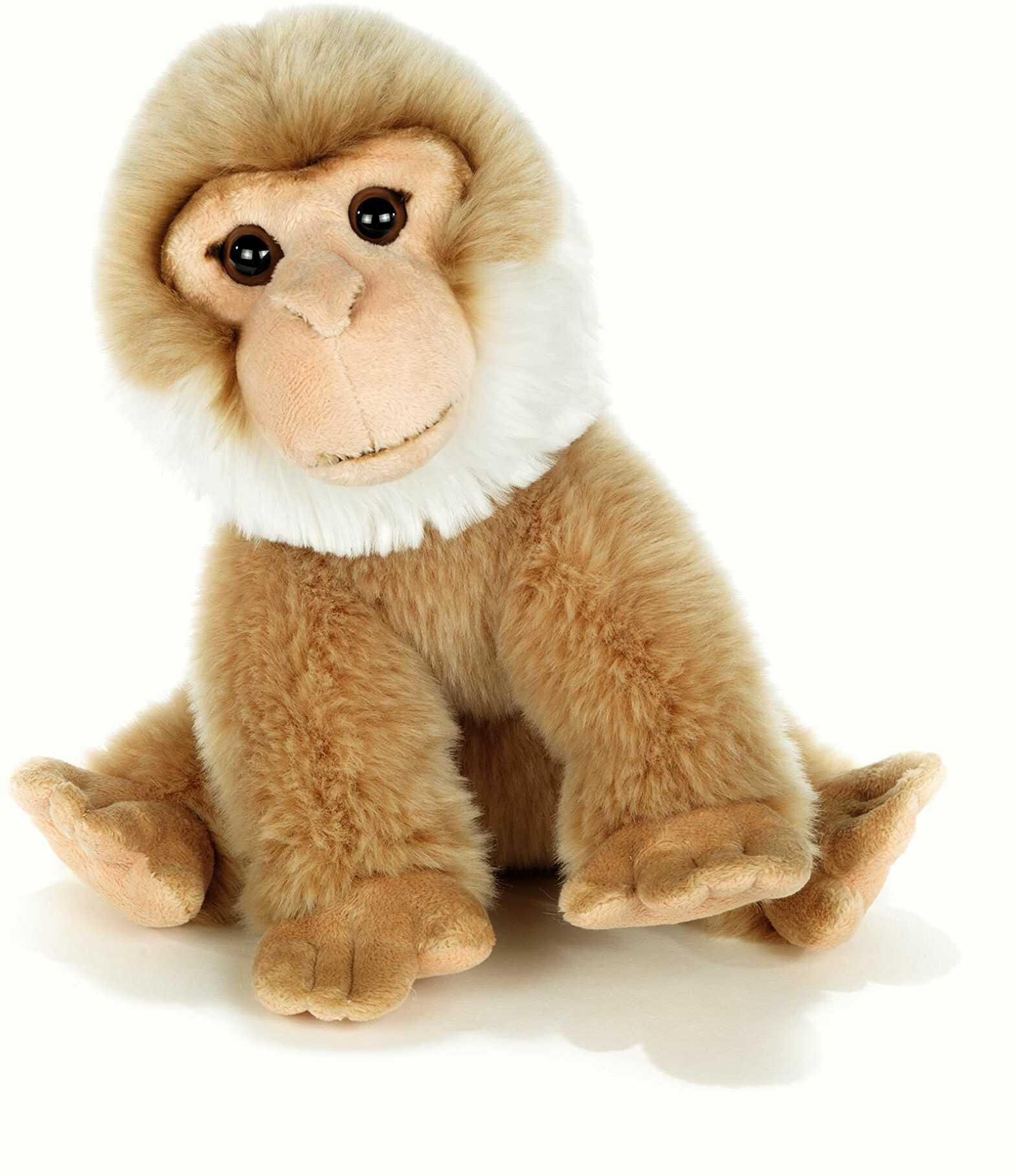 Plush & Company Pluszowy & Company_15882 Magotin-Monkey 30 cm. Wysokość, wielokolorowa