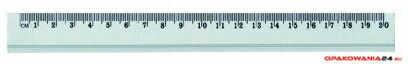 Linijka GR-119-20, aluminiowa, 20 cm GRAND 130-1504