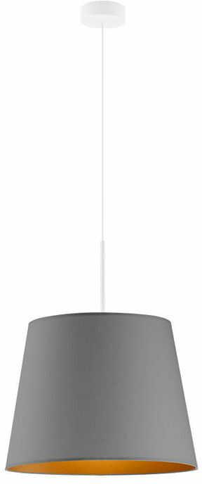 Żyrandol do salonu na białym stelażu - EX880-Sarex - 5 kolorów