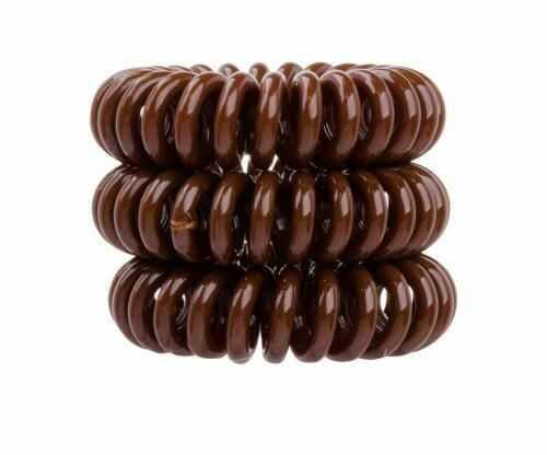Invisibobble The Traceless Hair Ring gumka do włosów 3 szt dla kobiet Pretzel Brown