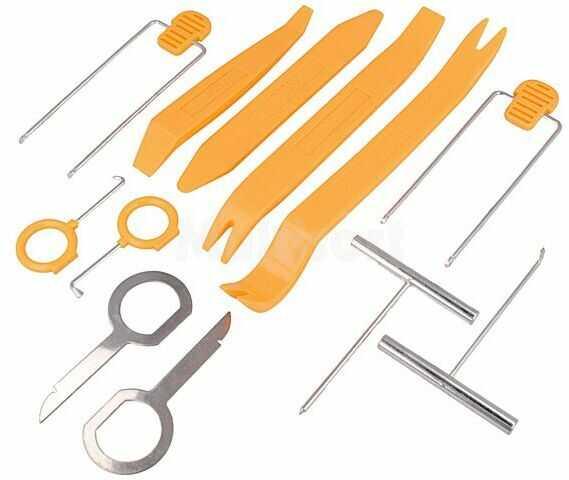 Zestaw kluczy do demontażu radia dla montażystów