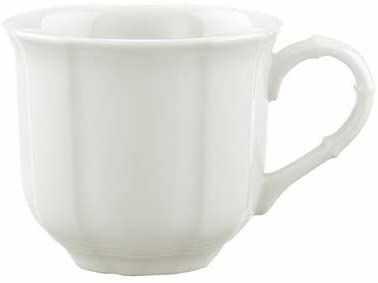 Villeroy & Boch Manoir kubek do moko/espresso 100 ml, porcelana premium, kolor biały, 0,1