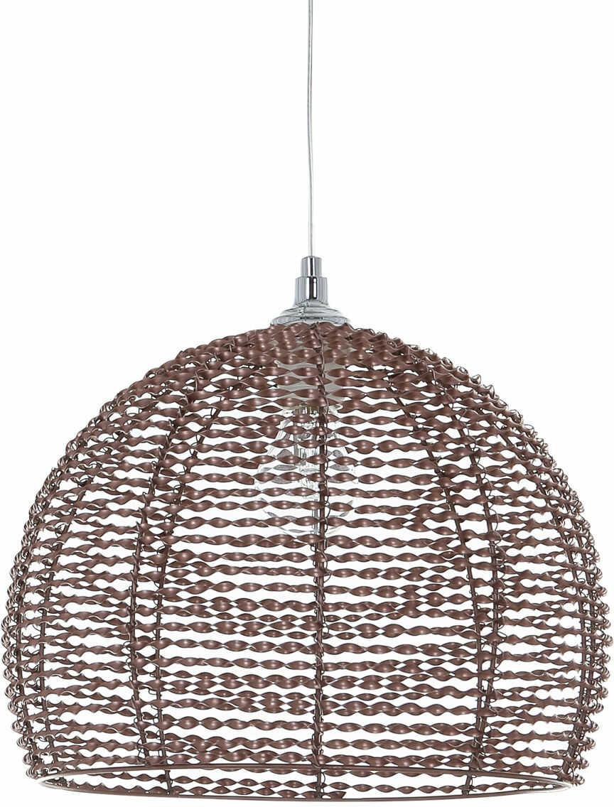 Italux lampa wisząca Justin MD12068-1B-B brązowa 35cm