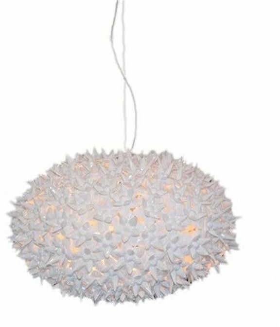 Bloom S1 biały - Kartell - lampa wisząca