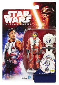 Hasbro Star Wars - Figurka 10 cm. Poe Dameron B3449 B3445